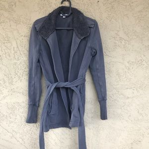 James Perse Size 1 (Small) Charcoal Jacket